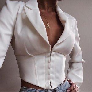 Stylish Corset Blazer